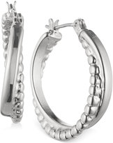 Nine West Twisted Hoop Earrings