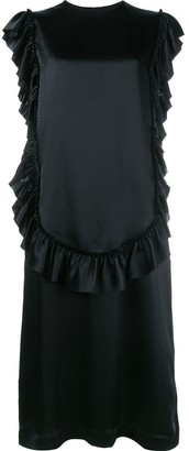 Simone Rocha Sleeveless Ruffle Dress