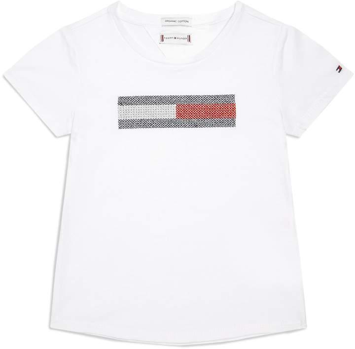 Tommy Hilfiger Organic Cotton Flag T-Shirt