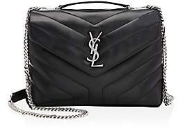 Saint Laurent Women's Small Loulou Matelassé Leather Shoulder Bag