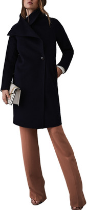 Reiss Antonia Wool-Blend Coat