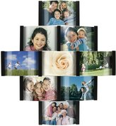 Malden 2056-90 Aero 9-Opening Collage Picture Frame for 4-by-6-Inch Photos