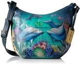 Anuschka Medium Bucket Hobodolphin World