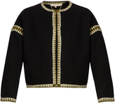Vanessa Bruno Faida zigzag embroidered jacket