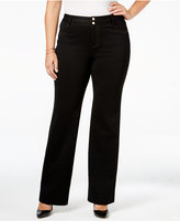 INC International Concepts Plus Size Bootcut Pants, Only at Macy's