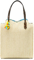 Serpui - woven raffia tote bag - women - Raffia - One Size