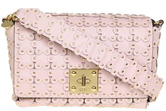 RED Valentino Shoulder Bag With Micro Studs In Leather