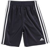 adidas Toddler Side-Striped Mesh Shorts