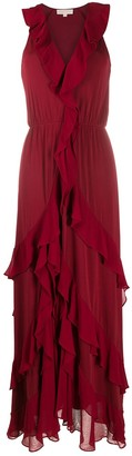 MICHAEL Michael Kors Ruffled Maxi Dress