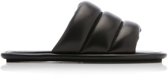 Proenza Schouler Quilted Leather Slides