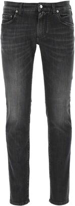 Dolce & Gabbana Mid-Rise Denim Jeans