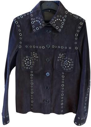 Karen Millen Brown Leather Jacket for Women