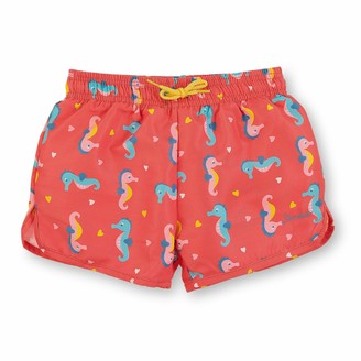 Sterntaler Girls Bathing Shorts with nappy insert UV Protection 50+ age: 18-24 Months Size: 24m Coral Red