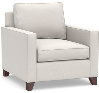 Pottery Barn Cameron Square Arm Deep Seat Slipcovered Armchair