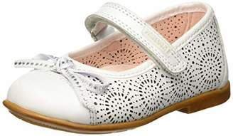 Pablosky Kids Baby Girls Ballet Flats, White (Blanco 055703)