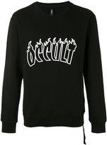 Omc - flames sweatshirt - unisex - Cotton - XS