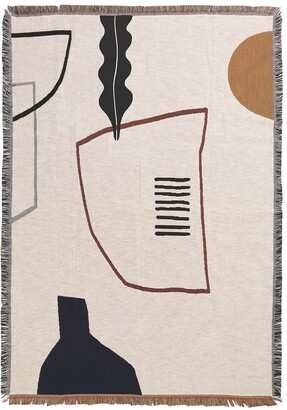 ferm LIVING Mirage Cotton Blanket