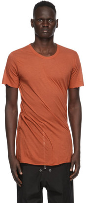 Rick Owens Orange Basic T-Shirt