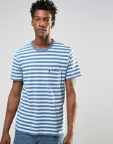 Levis Levi's Sunset Pocket Stripe T-shirt Indigo