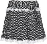 DODO BAR OR Michaella scarf-print cotton skirt