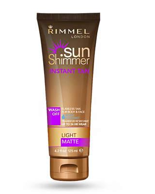 Rimmel Sunshimmer Instant Tan Matte Water Resistant 125ml