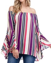 Fever 3/4 Symphony Sleeve Blouse