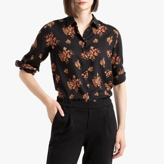 Benetton Floral Print Buttoned Shirt