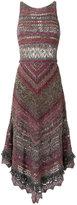 Cecilia Prado knit midi dress - women - Cotton/Acrylic/Metallic Fibre - G