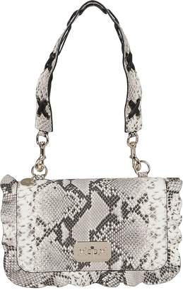 RED Valentino Multicolor Leather Python Print Bag