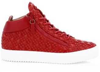 Giuseppe Zanotti Studded Leather Sneakers