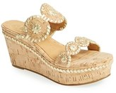 Jack Rogers Women's 'Leigh' Wedge Sandal