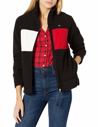 Tommy Hilfiger Women's Long Sleeve Zip Up w/Pockets