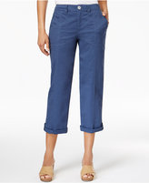 Style&Co. Style & Co Cuffed Capri Pants, Only at Macy's