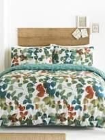 M&Co Leaves print duvet set
