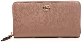 Gucci Double G Zip Around Wallet