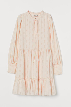 H&M Wide chiffon dress