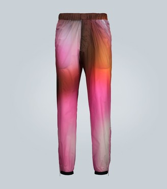 Prada Exclusive to Mytheresa printed technical pants