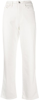 Simon Miller High Rise Slim-Fit Cropped Jeans