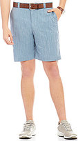 Roundtree & Yorke Performance Flat-Front Tech Stretch Twill Shorts