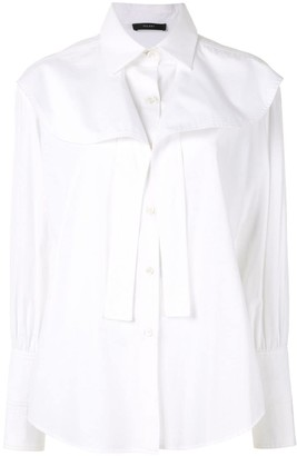 Ellery Icaro frilled-yoke shirt