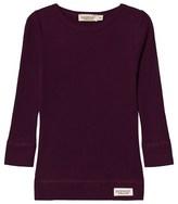 MarMar Copenhagen Purple Night Plain Long Sleeve T-Shirt