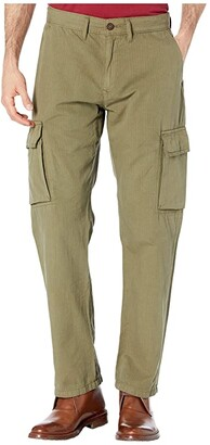 Lucky Brand Ripstop Cargo Pants (Burnt Olive) Men's Casual Pants