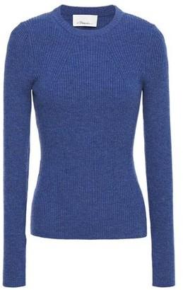 3.1 Phillip Lim Melange Ribbed Wool-blend Sweater