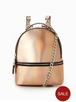 Very Metallic Micro Mini Backpack