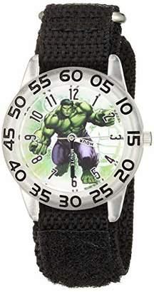 Marvel Boys' Hulk Analog Quartz Watch with Nylon Strap