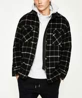 Zanerobe Rugger Plaid Jacket Black White