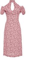 Alexis Calla Off The Shoulder Print Dress