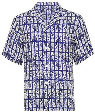 Kenzo Mermaid Casual short-sleeved shirt