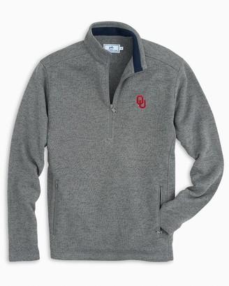 Southern Tide Oklahoma Sweater Fleece Quarter Zip