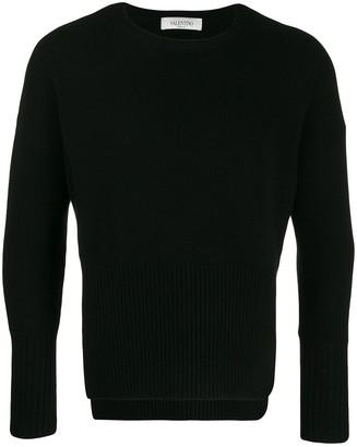Valentino VLTN jacquard knit sweater
